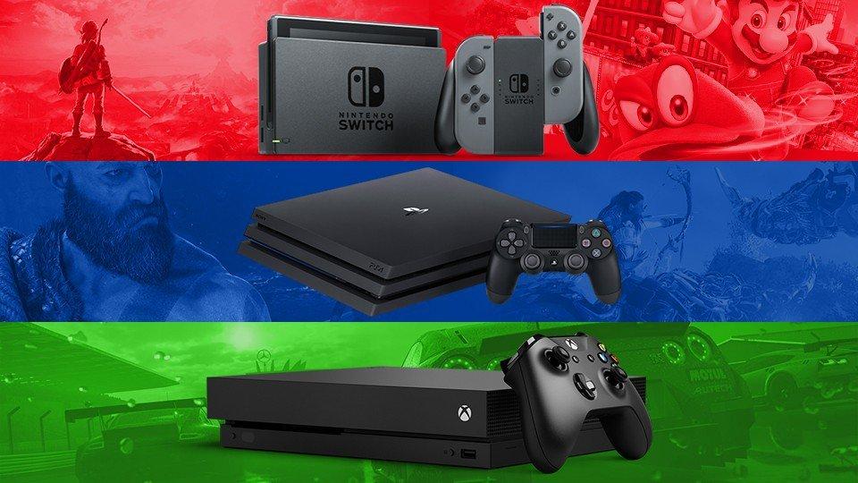 B H Photo Video On Twitter Xbox One X Vs Nintendo Switch Vs Ps4 Pro Https T Co Kv2bjups3z
