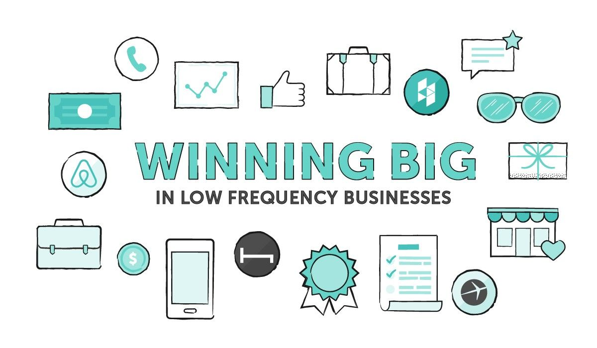 """Four Strategies to Win Big with Low Frequency Marketplaces"" by @onecaseman http://crsnt.io/R0hNluCw"