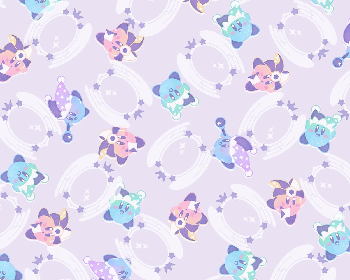 Nintendo Of America On Twitter Celebrate The Mirror Ability Winning Round 1 Kirby Battle Royale Copy Poll With This Cute Wallpaper