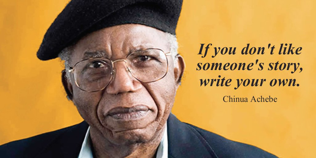 Chinua Achebe Quotes