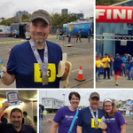 Congrats to our #QA Manager @rj_systemware on completion of the 2017 @FWMarathon and for accomplishing his goal to RUN for #ChildhoodCancer research & awareness! We are all very proud of you Robert! @1million4anna #1M4A #FloatOn #MoreThan4 #EmployeesBeingAwesome