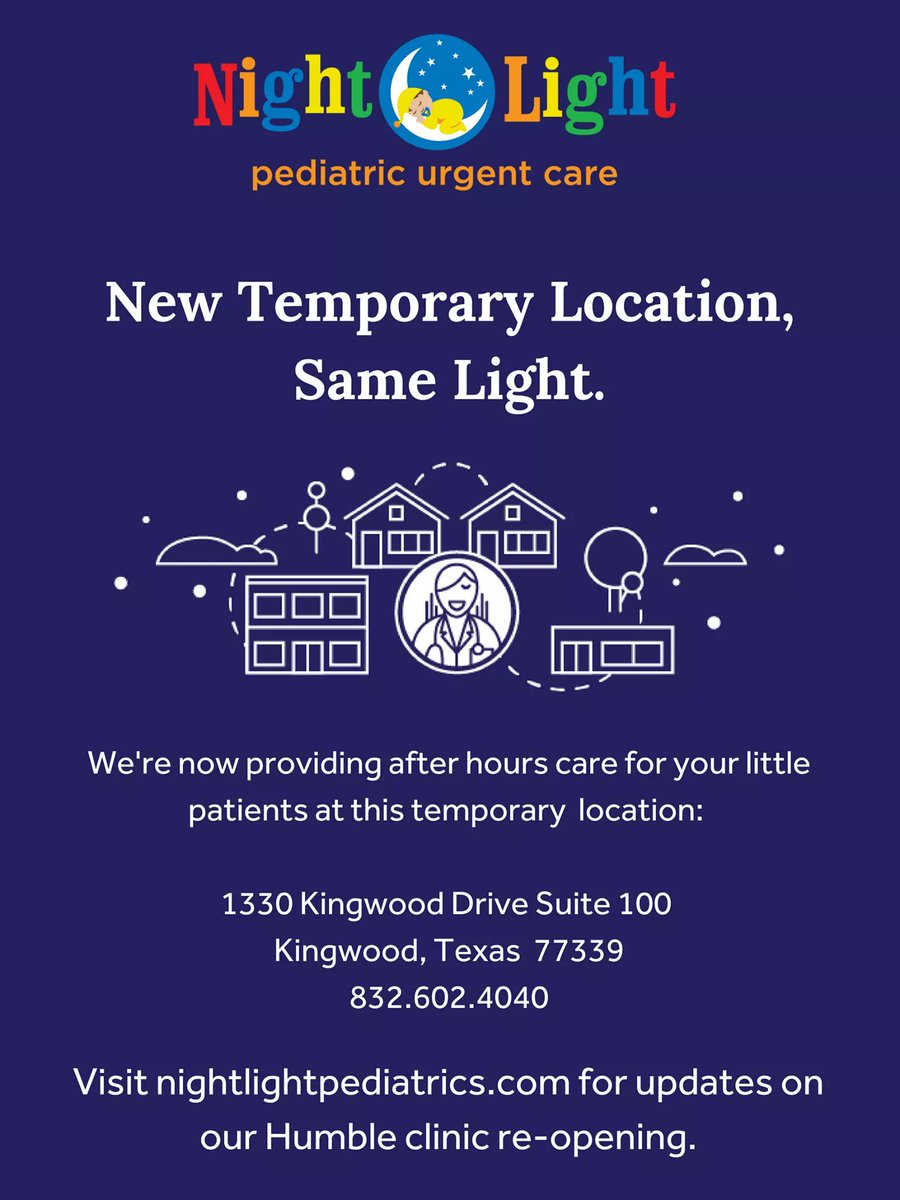 Amazing With Our Newest Temporary Location Opening, We Are Here To Work Directly  With Your Pediatrician To Provide After Hours Specialized Care To The  Humble ...