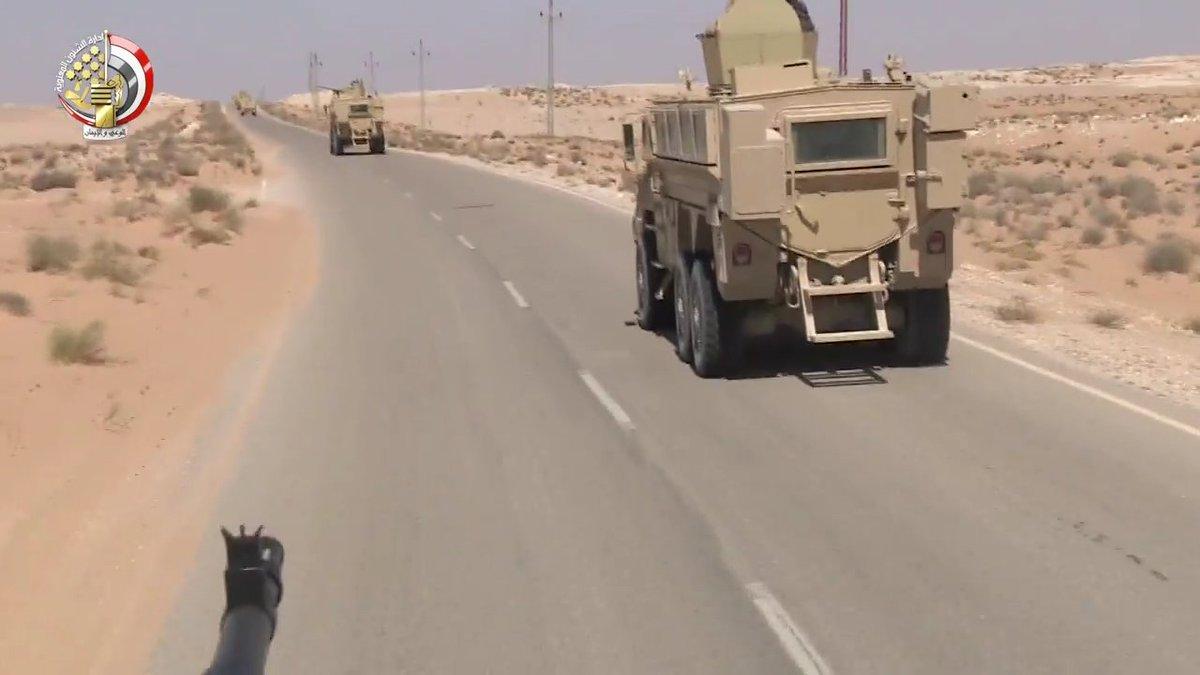 """القوات المسلحة المصرية تحصل علي المزيد من المركبات المدرعة المقاومة للالغام """" MRAP """" DOiuE21W0AEOldR"""
