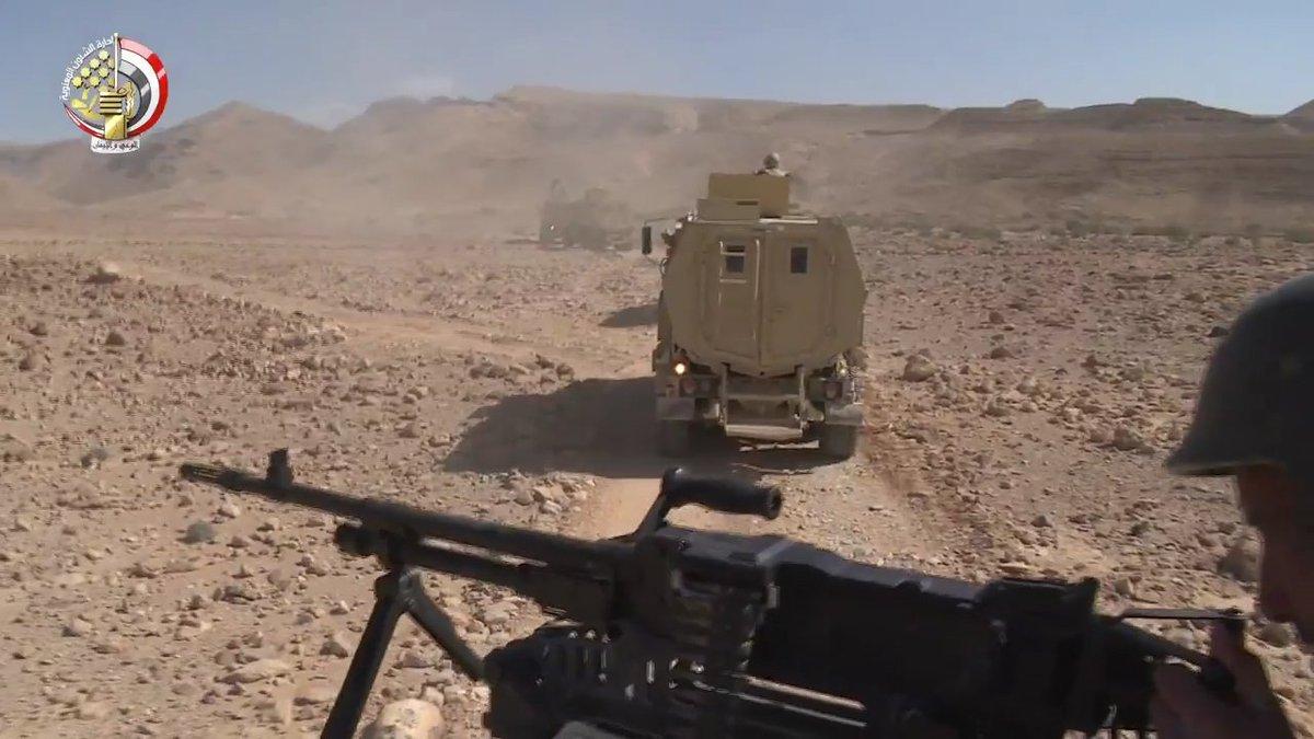 """القوات المسلحة المصرية تحصل علي المزيد من المركبات المدرعة المقاومة للالغام """" MRAP """" DOiuGRZXcAcc5Xu"""