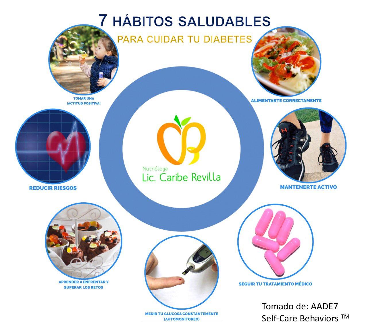 diabetes hábitos saludables