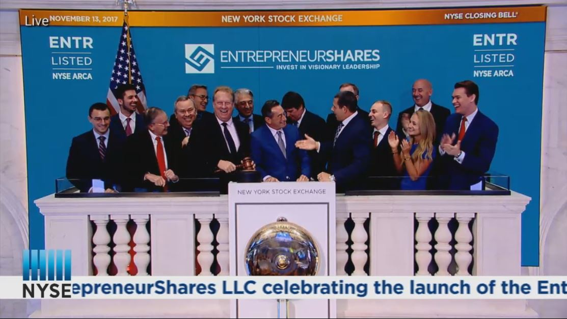 Congrats to the EntrepreneurShares team on ringing the closing bell at the @NYSE today - it was great to be a part of the celebration! @ERshares #etfs <br>http://pic.twitter.com/qDxxeUVPyO