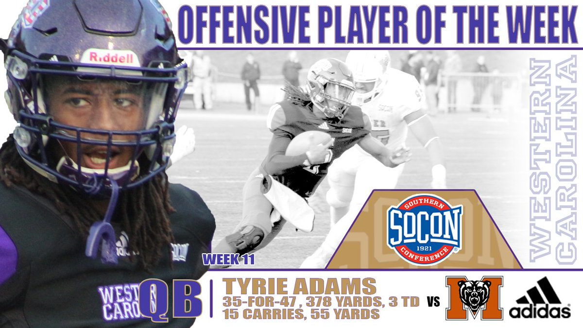 Tyrie Adams - Offensive Player of the Week