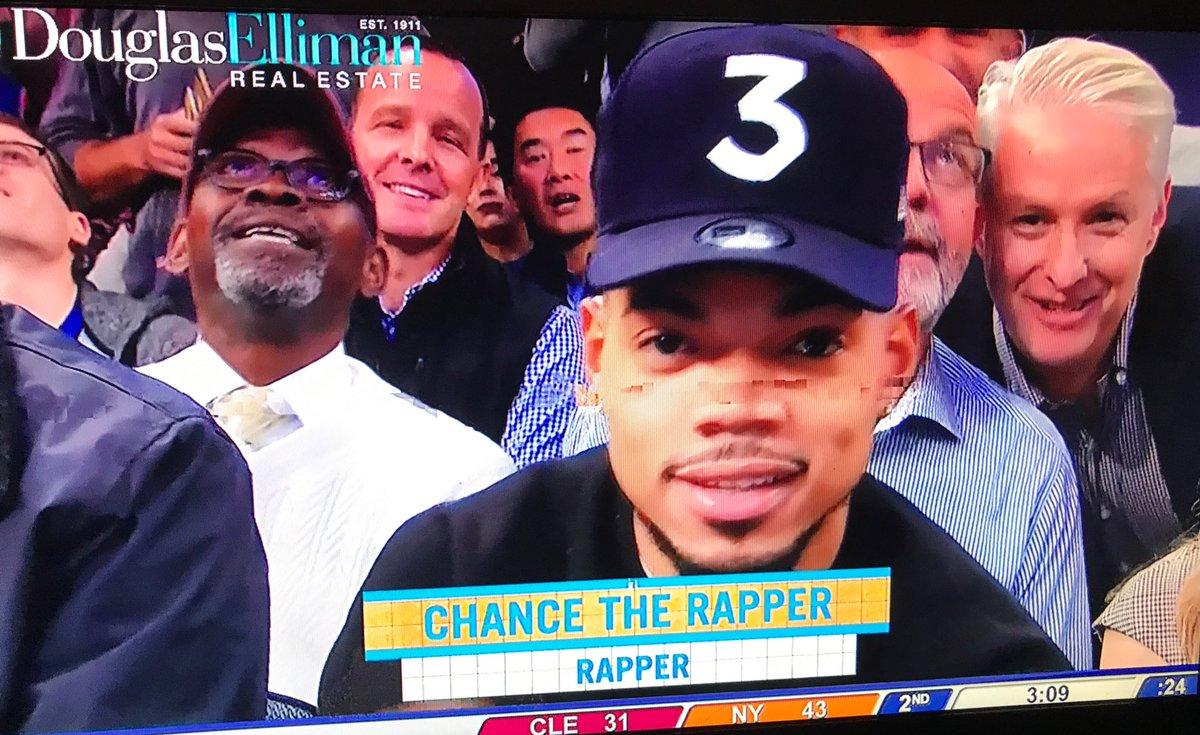 "In case you wanted to know the occupation of ""Chance The Rapper""...."