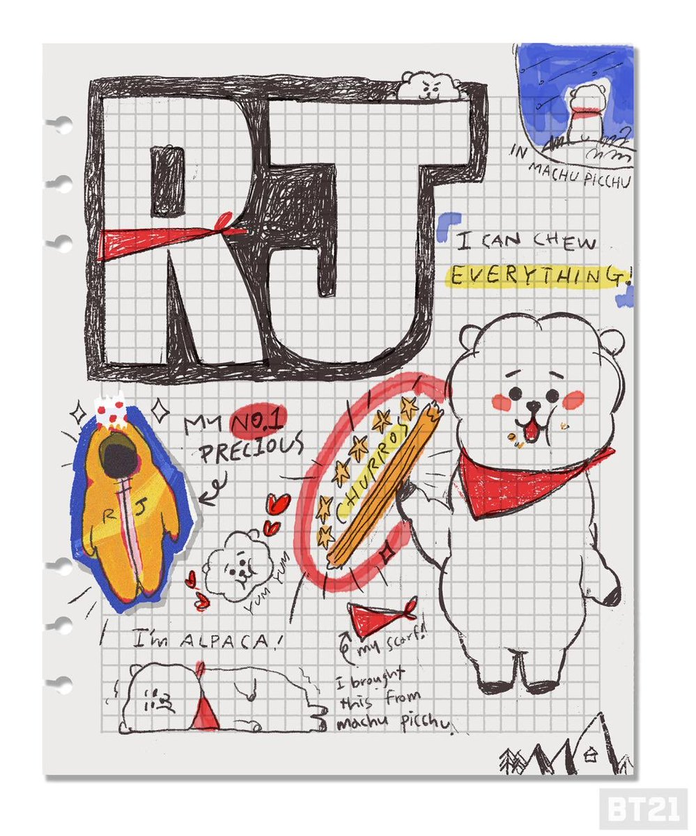 taehyungbase: RT BT21_: I can chew everything! #RJ #greetings #gentle #parka #mumble #BT21 #UNVERSTAR #CreatedbyBTS<br>http://pic.twitter.com/Ncgvr5u99X