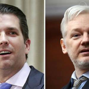 TheHill: Trump Jr. corresponded with WikiLeaks privately on Twitter: report... #Donald Trump  http:// rankstr.com/item/15063145/ tw  … pic.twitter.com/m2bsXZryCg