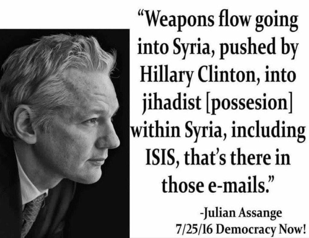 This is why they are attacking Wikileaks and Julian Assange... Our IC hates the truth  #DeepState #CIA <br>http://pic.twitter.com/mw96WW6Kmg