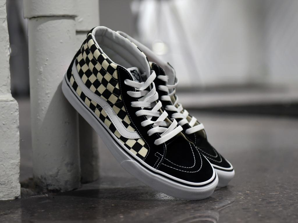 7876f37674 the vans66 sk8 mid checkerboard is in stores and online here