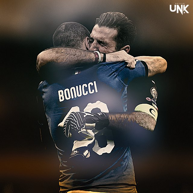 Heartbreaking... #Buffon #Bonucci #Italy #Legend #UnkDesign<br>http://pic.twitter.com/QadfKy2lAZ