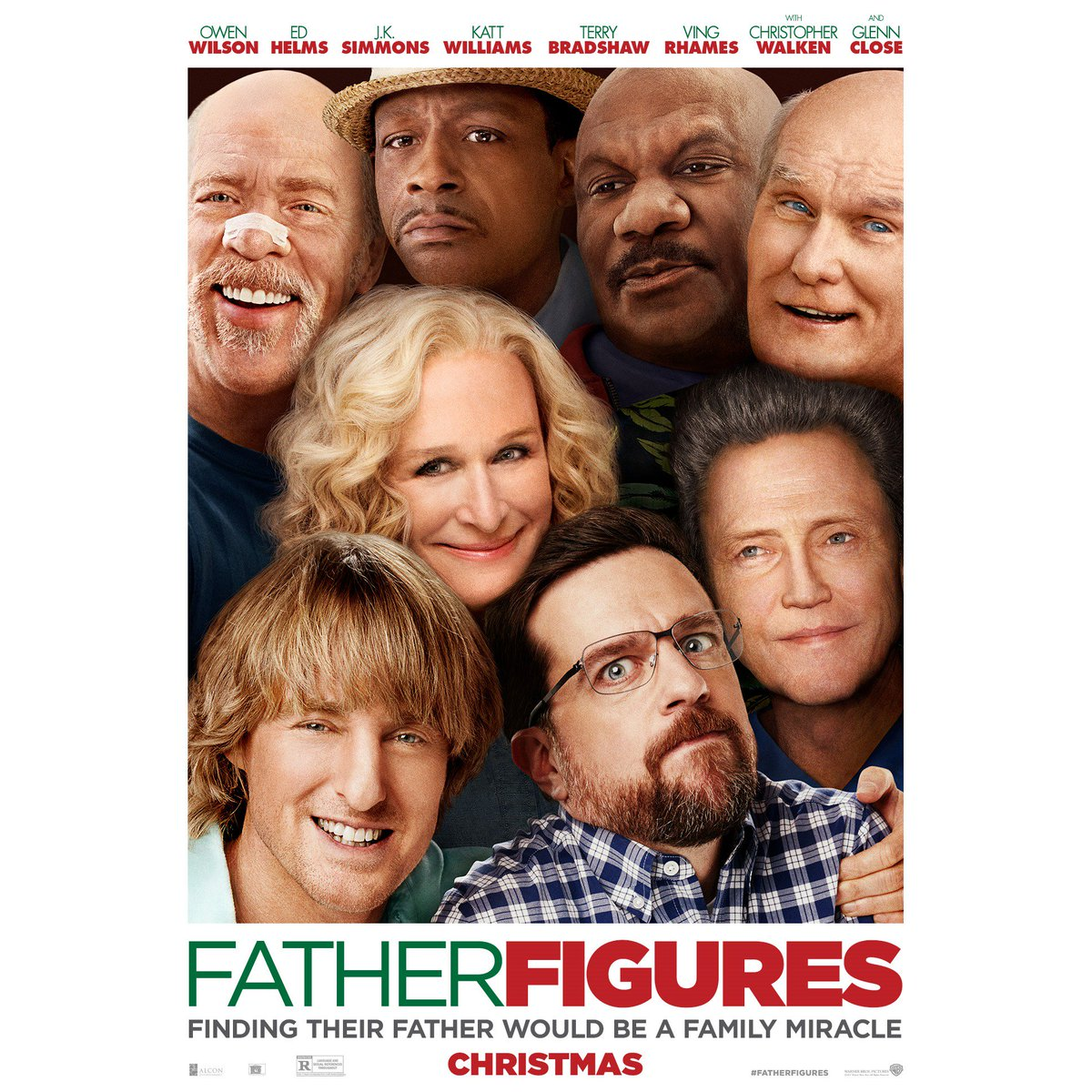 Finding their father would be a family miracle. #FatherFigures – in theaters December 22!!!