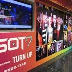 【GOT7】2nd Mini Album『TURN UP』入荷💓渋谷店はガッセ一色❣️towersh…