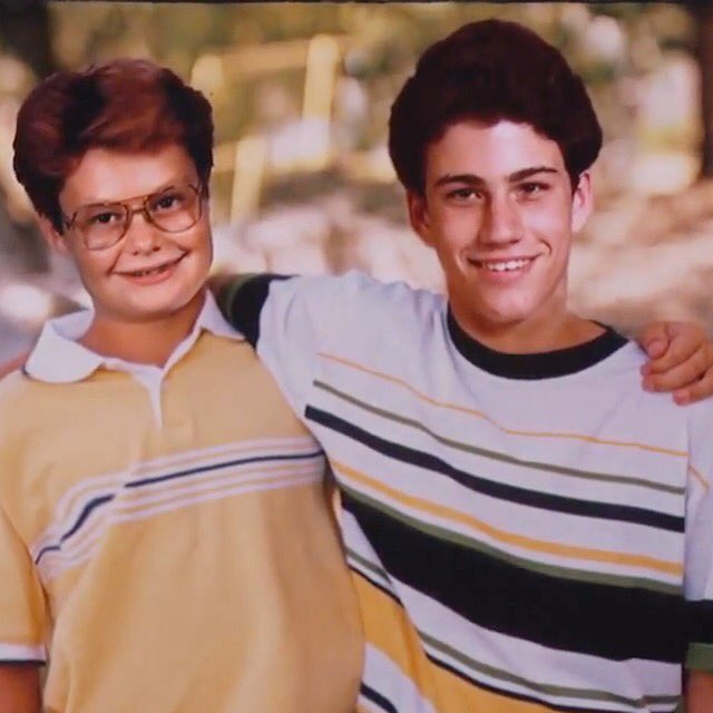 One of us had a more awkward childhood than the other. Happy bday @jimmykimmel! https://t.co/aUXPcMwSzJ