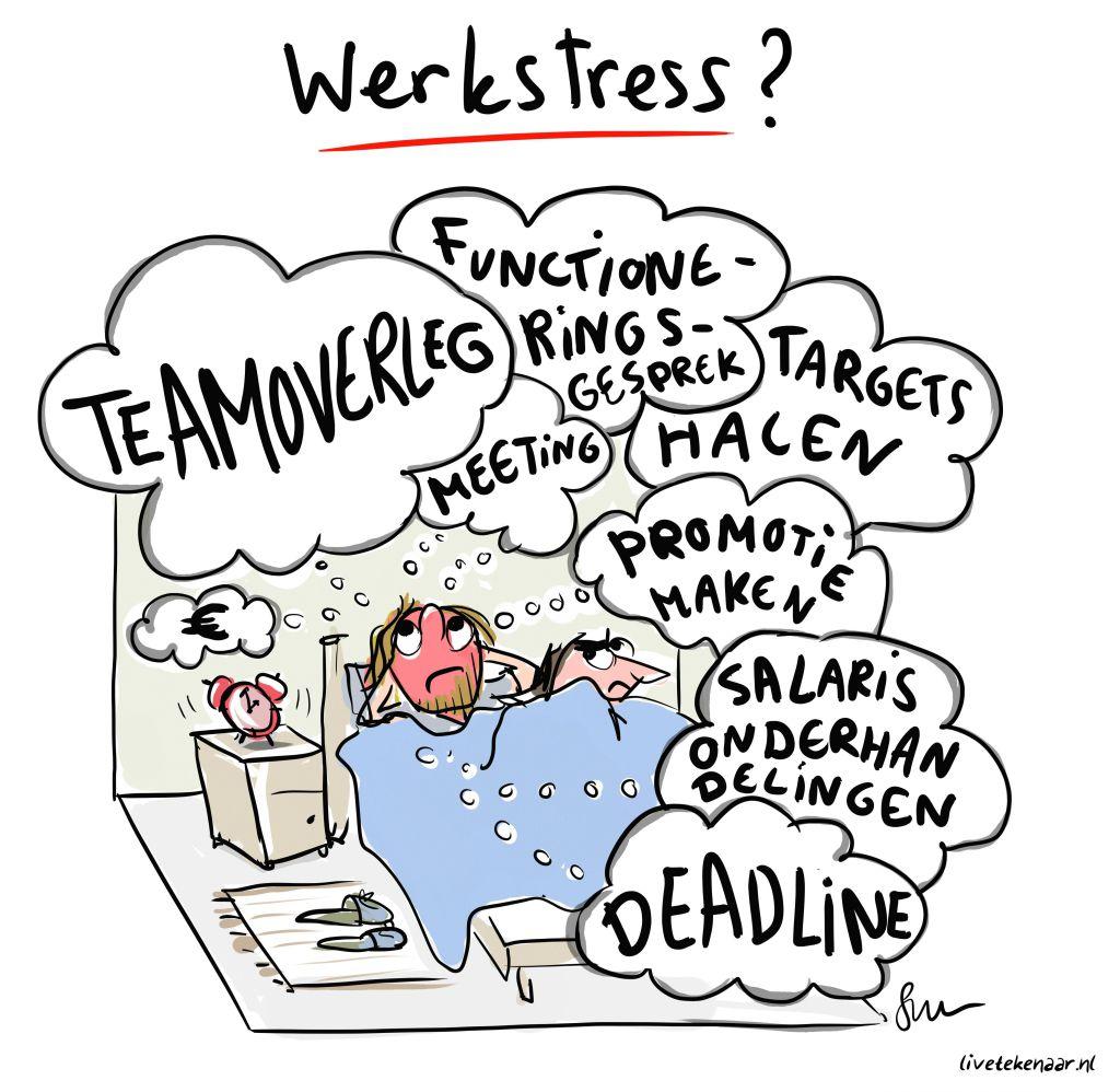 Afbeeldingsresultaat voor werk stress
