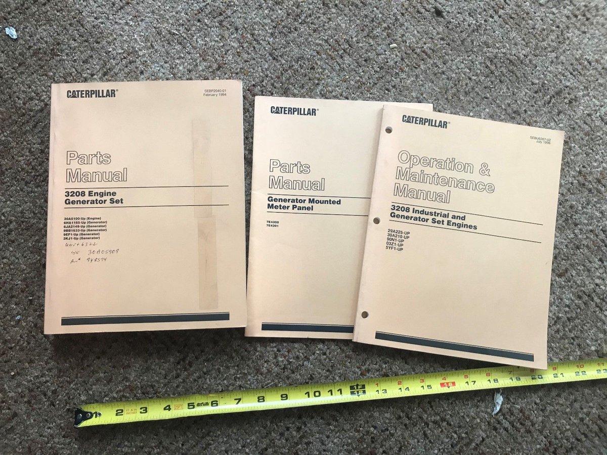 3208 Cat parts Manual