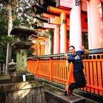 ❤️💛 KYOTO 💛❤️昨日、私のかぞくは京都に行きました!とってもきれい!! pic.twitt…