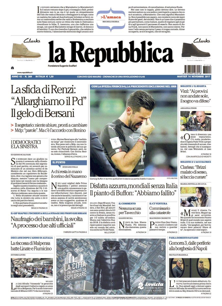 La Repubblica On Twitter La Sfida Di Renzi Allarghiamo Il Pd