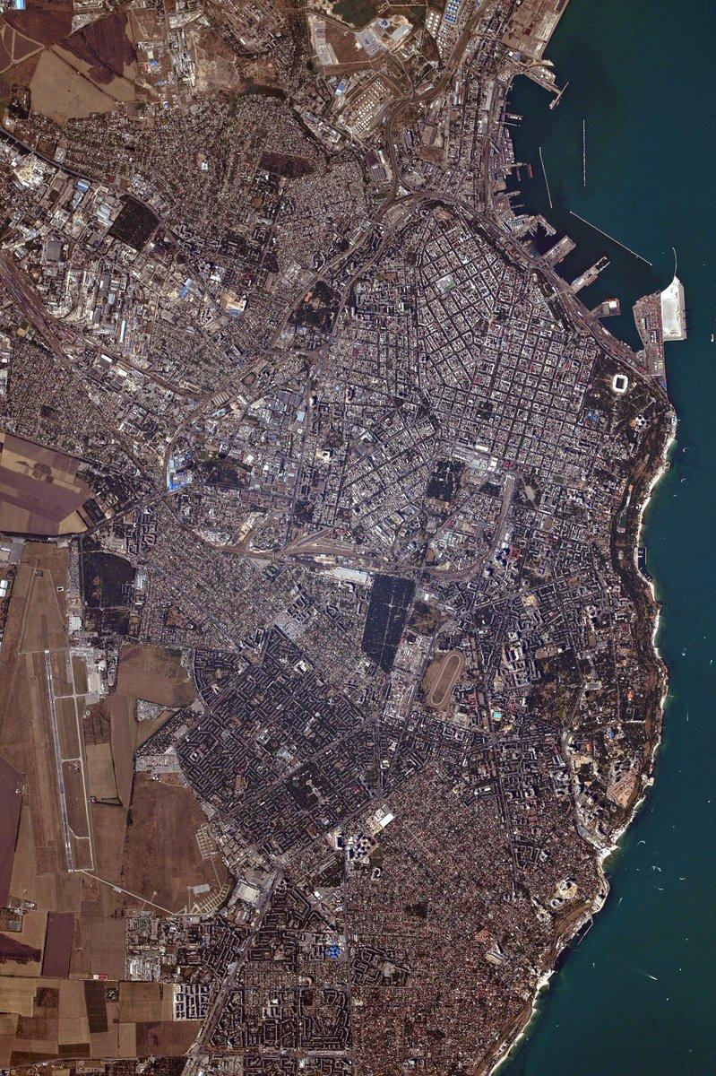 Русский астронавт опубликовал фото Одессы с МКС (фото)