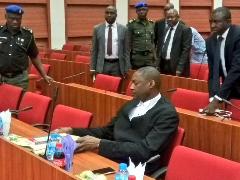 AGF Malami is currently in closed door session with Senate Panel over the recent scandalous reinstatement of Abdulrasheed Maina into civil service.