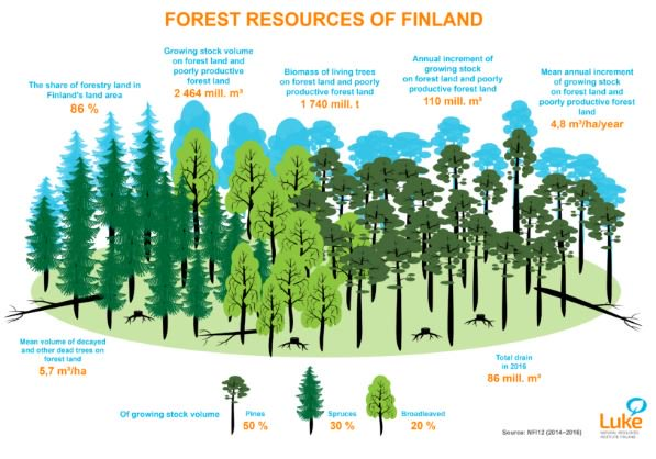 Recent information about #ForestResources #FRA in Finland available from Luke's Statistical Services. Compared with previous #ForestInventory (NFI11), the growing stock volume increased by 5%. @mmm_fi @ForestFinland @FAOForestry @GFIS_net  https://www. luke.fi/en/news/recent -information-forest-resources-available-lukes-statistical-services &nbsp; …  @LukeFinlandInt<br>http://pic.twitter.com/zODK27Eqdc