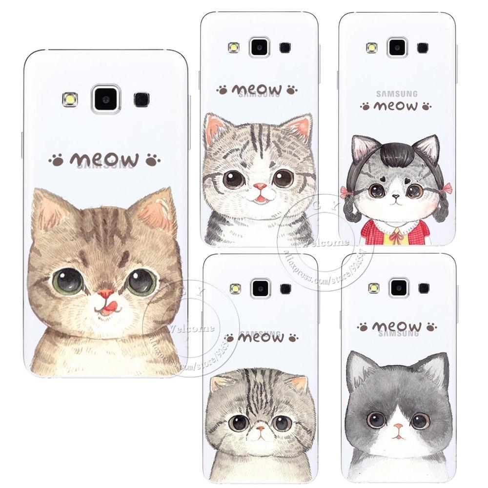#catstuff New Fashion Super Cute Cat Hard Case Cover For Samsung Galaxy S3 S4...