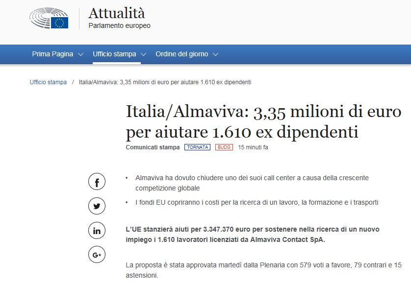 Contact tutte le ultime notizie foto e video in tempo for Ultime dal parlamento