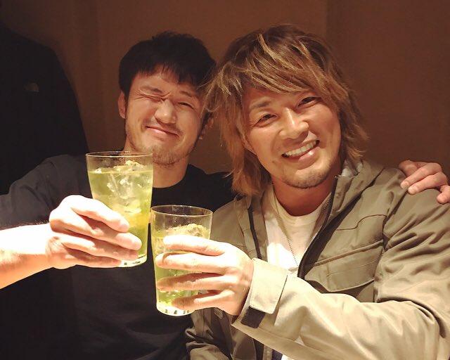 柴田さんと飯食ってます。