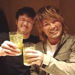 柴田さんと飯食ってます。 pic.twitter.com/gxpNaFxYAv