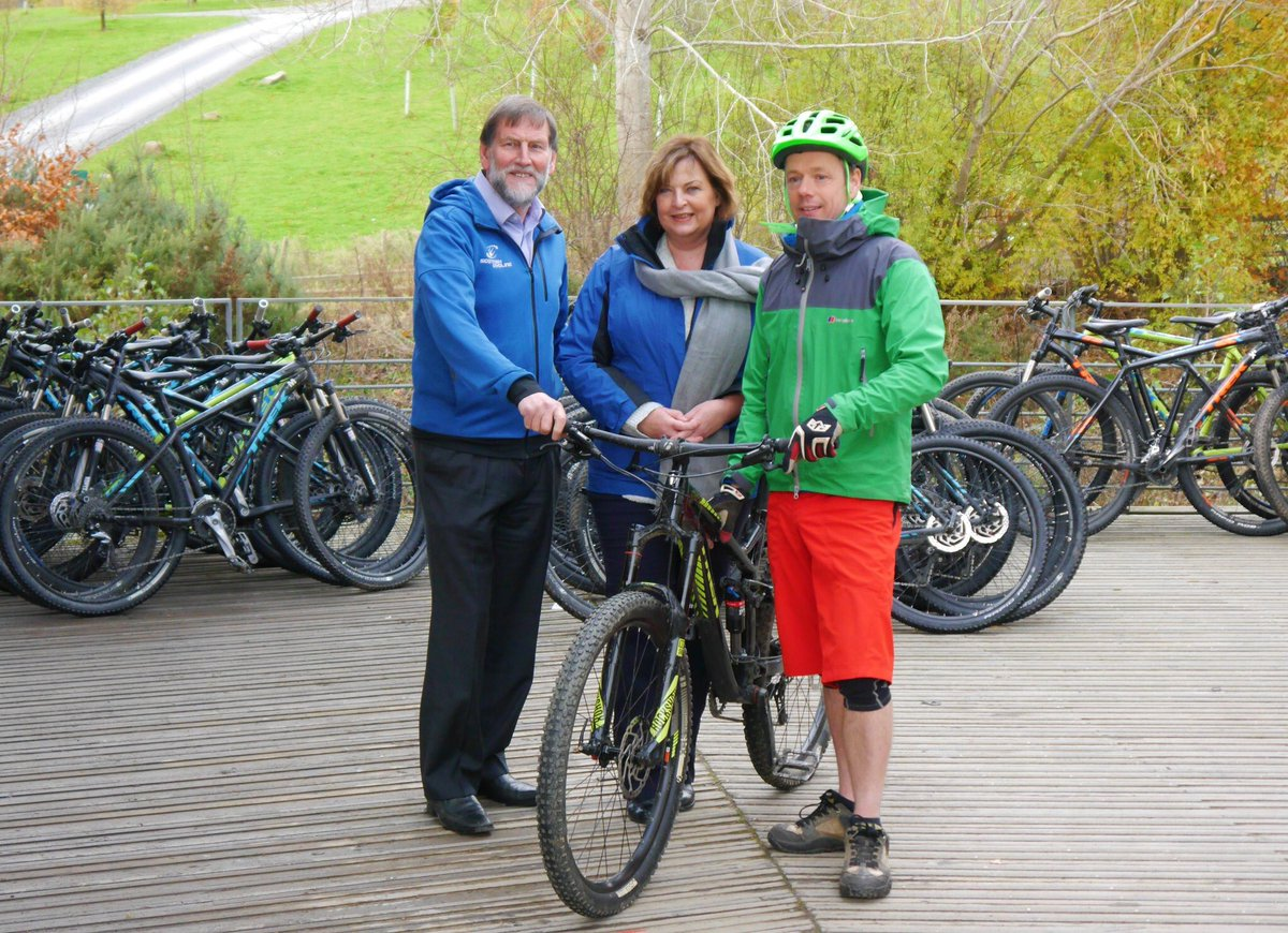 Announced £50k to help develop #mountainbiking in Scotland at our 1st ever Forest Tourism Summit - -thanks for great visit @GlentressForest<br>http://pic.twitter.com/TASVOFYhrb