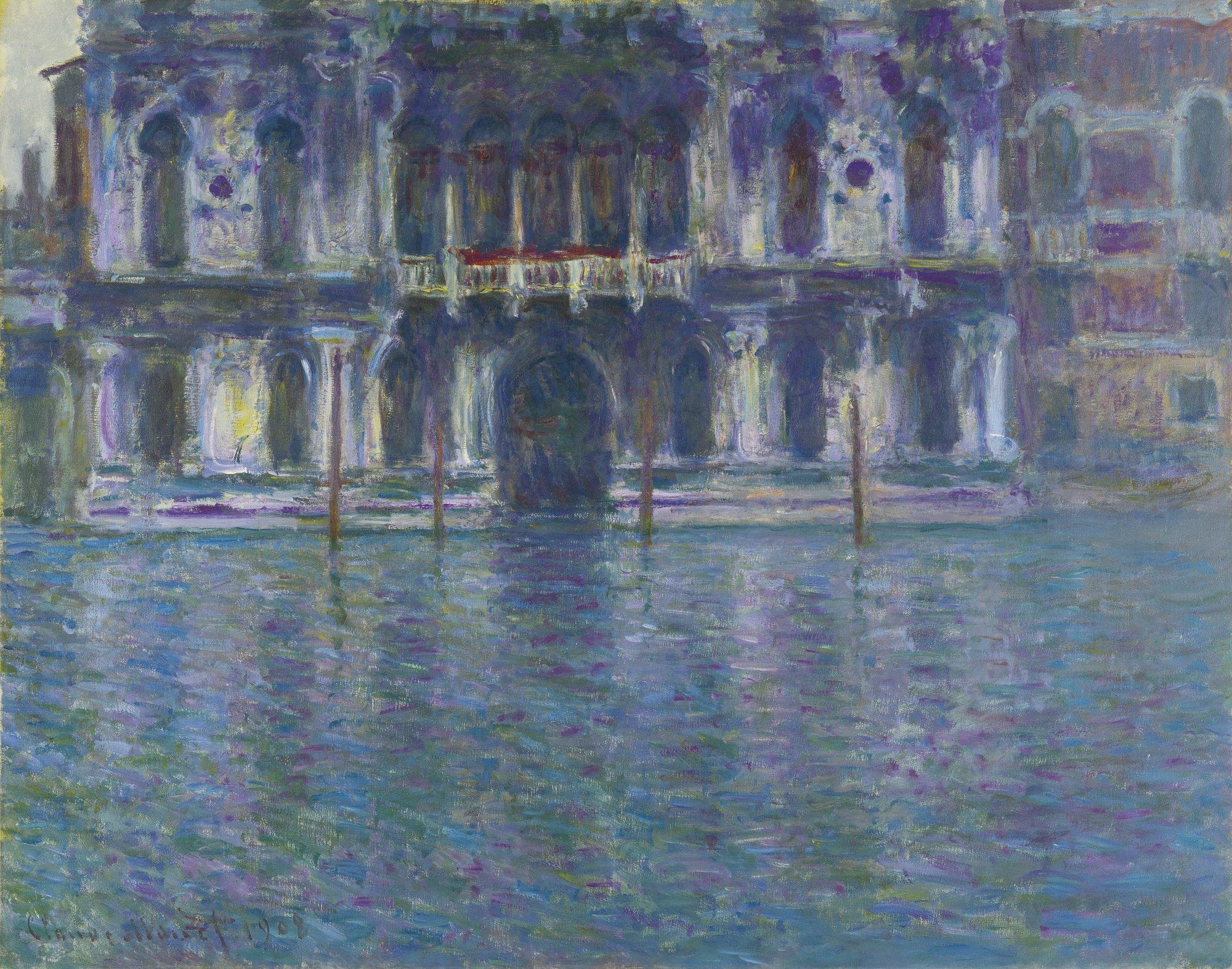 """Teatro La Fenice on Twitter: """"👨🏻🎨 Il #14Novembre 1840 nasceva a Parigi  #ClaudeMONET, capofila dell'impressionismo, padrone di innumerevoli  suggestioni. Buon COMPLEANNO!! 🎨 'PALAZZO CONTARINI' (1908) 🎨 #BOTD  #AccaddeOggi #HappyBDay… https://t.co ..."""