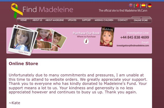 Official Madeleine McCann Facebook page and website news - Page 7 DOlLV27X4AAAp98