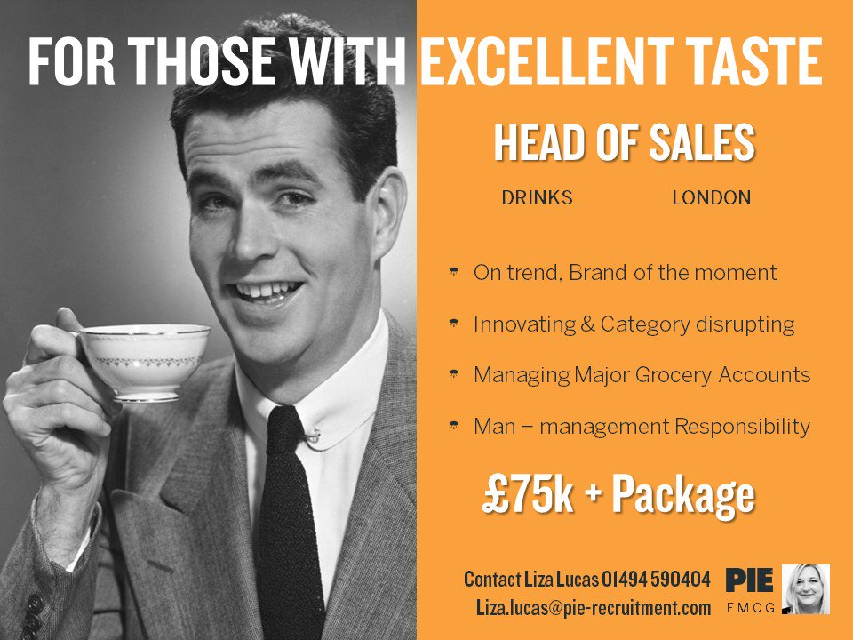 A fabulous role with an amazing #ontrend #drinks brand! If it&#39;s time for a change, contact our #FMCG Team today on 01494 590404 to find out more &gt;&gt;  http:// bit.ly/2v2vuN0  &nbsp;   #Sales #Career<br>http://pic.twitter.com/u9jydpHP40