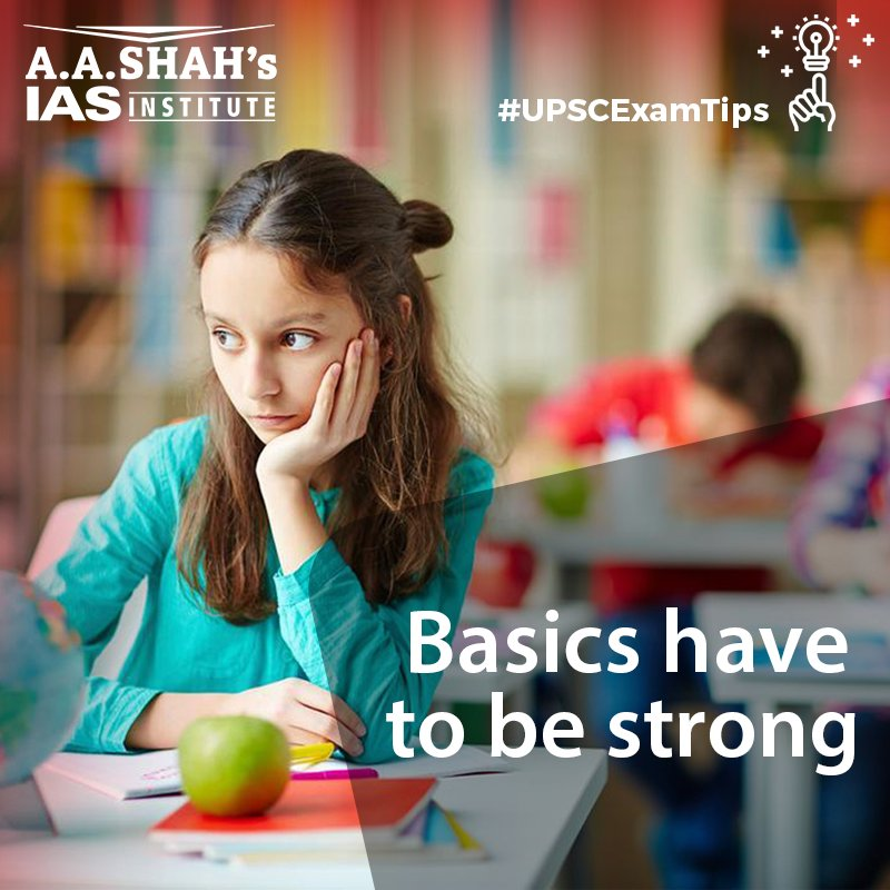 #UPSCExamTips Having a strong command over the basics is better than just knowing the entire subject  https:// buff.ly/2zXkS5t  &nbsp;   #UPSC #IAS #CivilService #UPSCChat #Study #Motivation #CrackUPSC #CrackIAS #Coaching #Tutor #Institute #Education #ELearning #MLearning #STEM #ExamTips<br>http://pic.twitter.com/gXA8c9OjLl