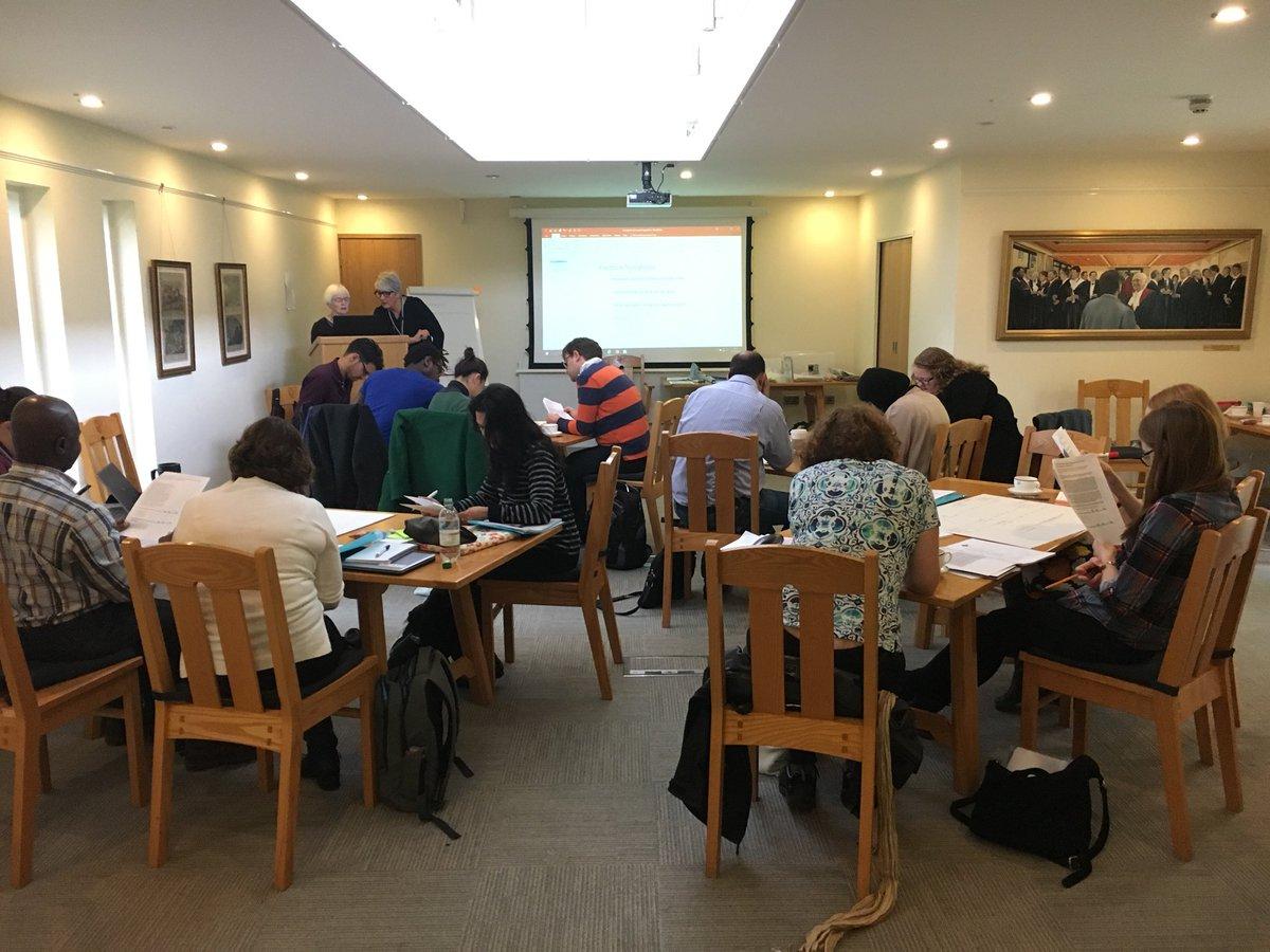 Designing an RCT using abstracts at #CASP2017 #criticalappraisal <br>http://pic.twitter.com/ADaiajDXVB &ndash; à Kellogg College