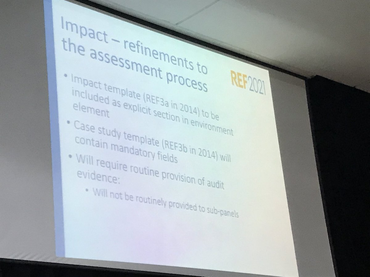 @Kim Hackett provision of evidence required by will not be routinely provided to sub panels #WHEFEvents #REF2021 <br>http://pic.twitter.com/3iUU3X52T9