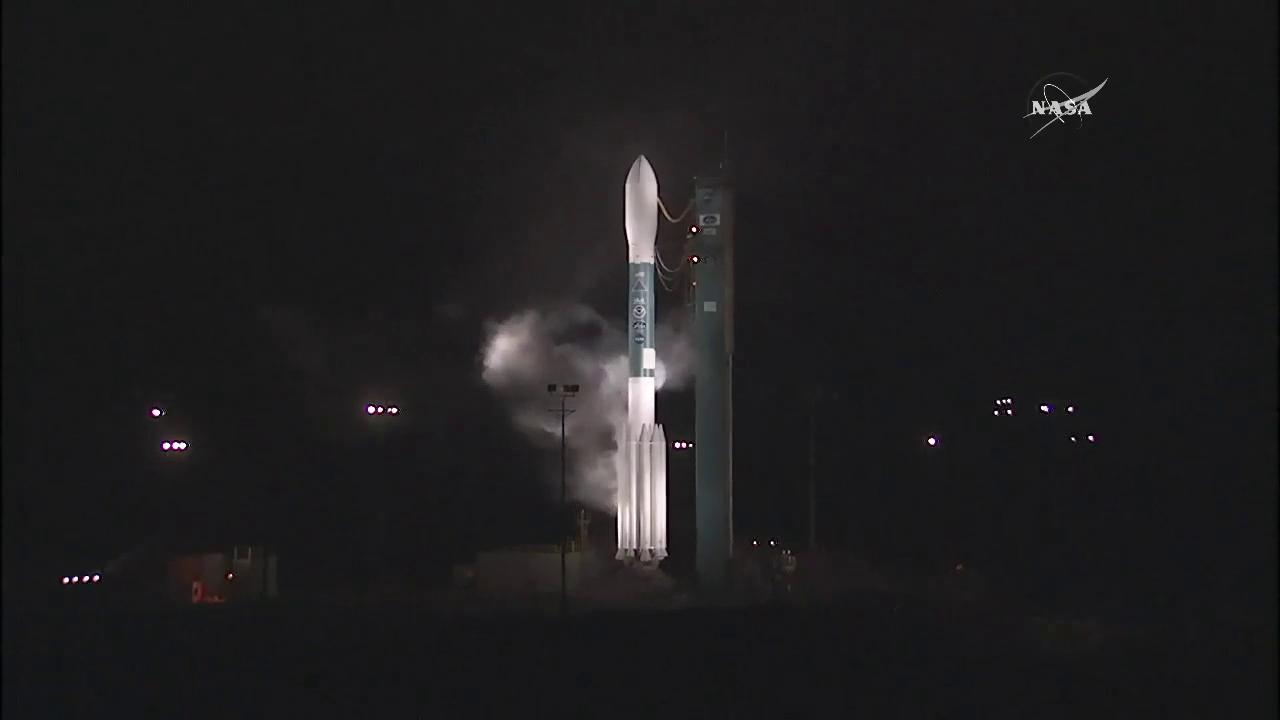 Scrub: This mornings launch of @NOAASatellites' #JPSS1 spacecraft was scrubbed. Updates: https://t.co/mzKW5uDsTi https://t.co/wzCjBZyAwb