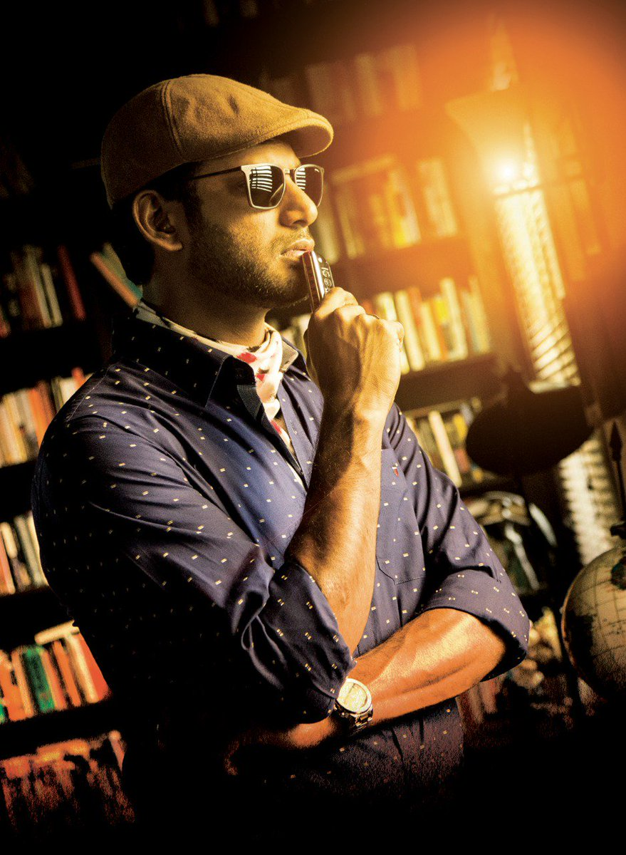 Hero #Vishal is very happy with the success of #Detective movie and very soon going to start #Detective2 also....<br>http://pic.twitter.com/Qdka8oaVv4