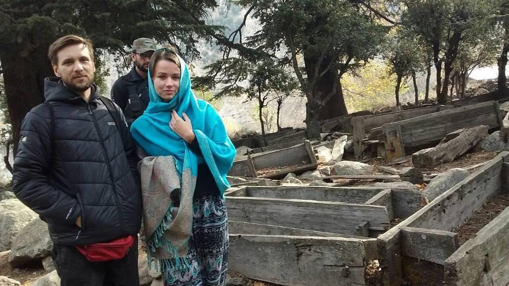 #Kate and #Lukasz in #Bomburet #kailash Exclusive security arrangements by @ishfaqahmadtg  #KateLukasz #ByTheWay #BackpackingPakistan #Jour… <br>http://pic.twitter.com/zcJ2FECTzZ