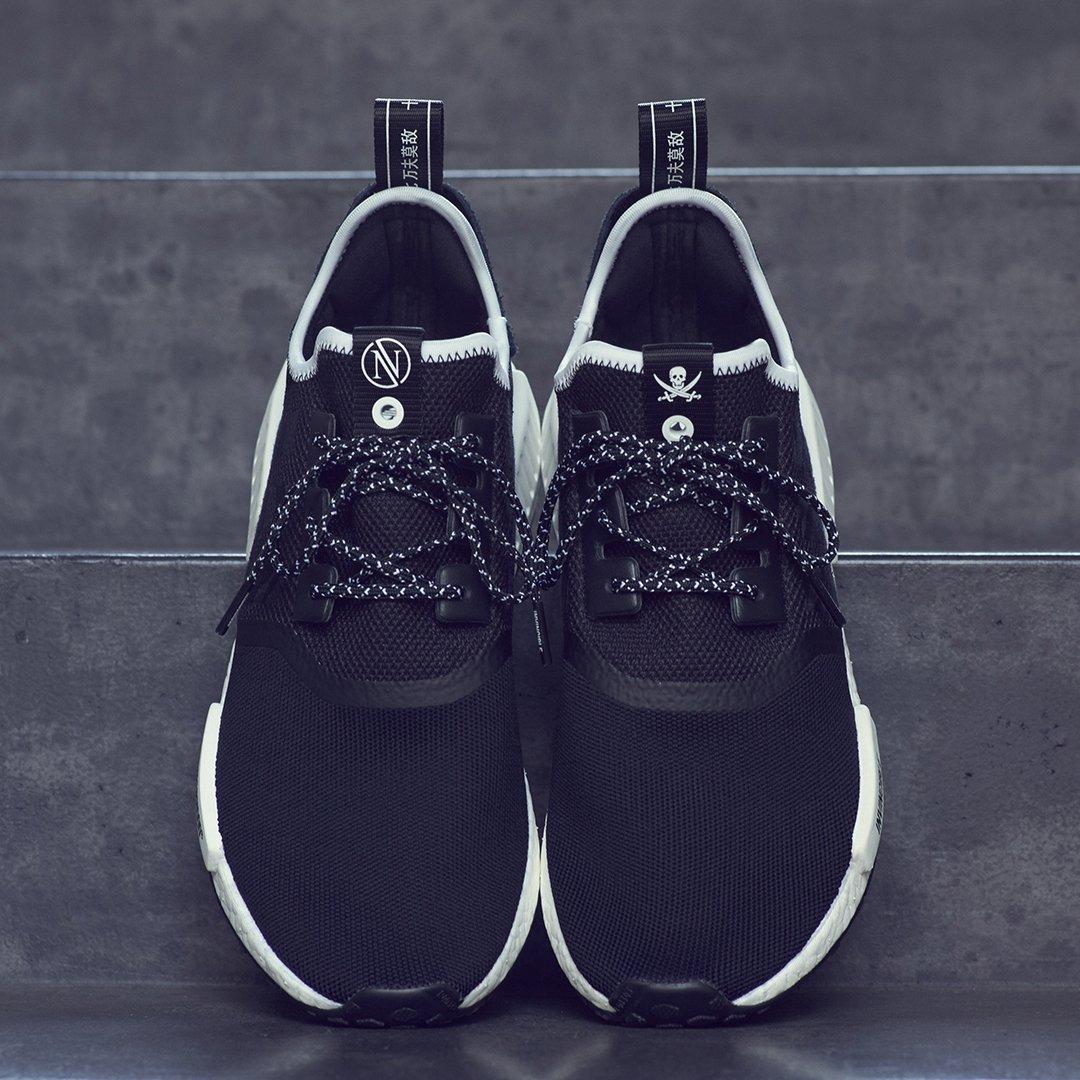 Cheap Adidas Originals NMD R1 Runner Black Monochrome