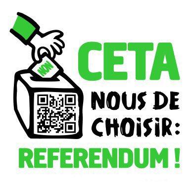 Le 18 novembre, journée nationale de mobilisation contre le #CETA et pour exiger un #ReferendumCETA : Déjà 25 événements annoncés partout en France!  https://www. collectifstoptafta.org/actu/article/l e-18-novembre-journee-nationale-de-mobilisation-contre-le-ceta  …  Les 64% de français.es opposées au #CETA (sondage figaro) vont se faire entendre! #StopCETApic.twitter.com/HKqxQzh2Qt