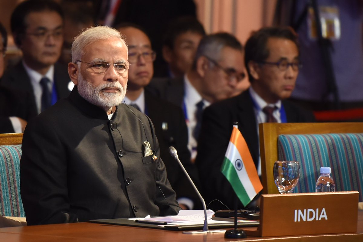 Prime Minister @narendramodi is speaking at the @ASEAN-India Summit. https://t.co/TwsMvB3lhX