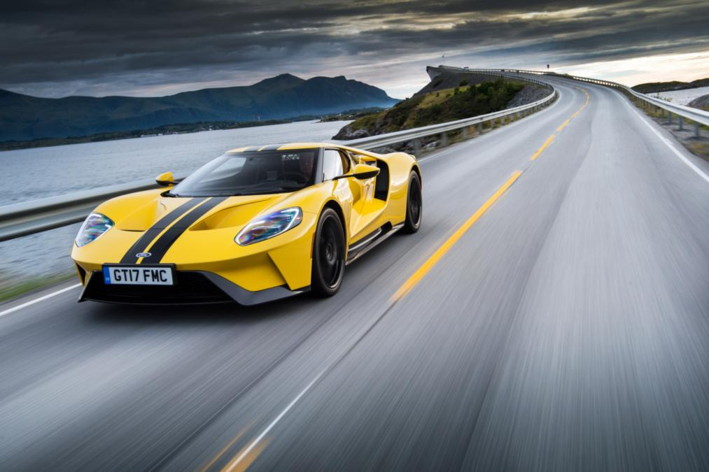 We Take The Ford Gt To The Arctic Circle Raceway In A Bid To Break