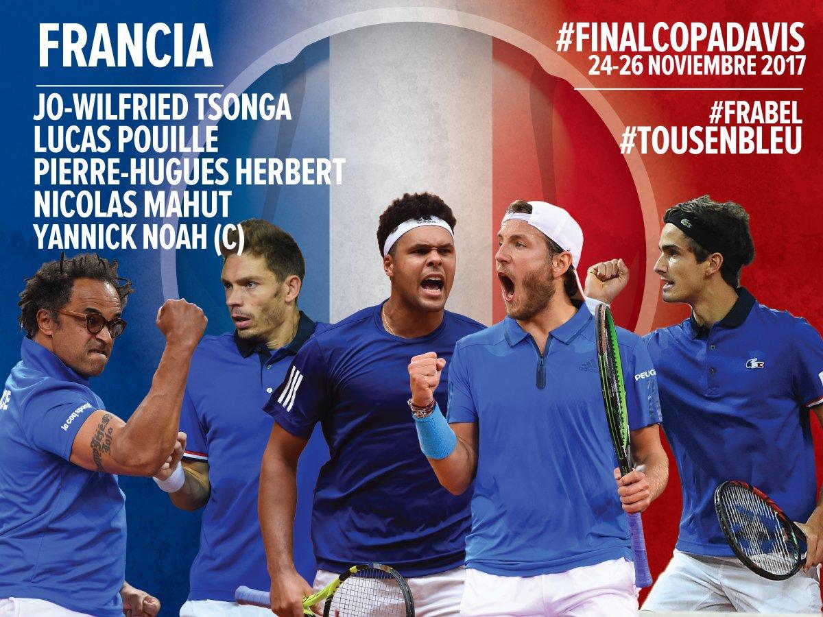 Copa Davis: Francia y Bélgica confirmados