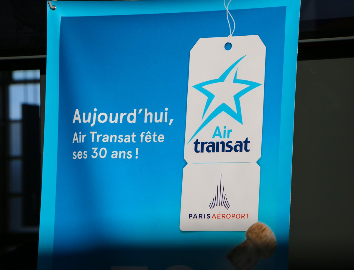 Paris Aéroport On Twitter Bon Anniversaire At Airtransat