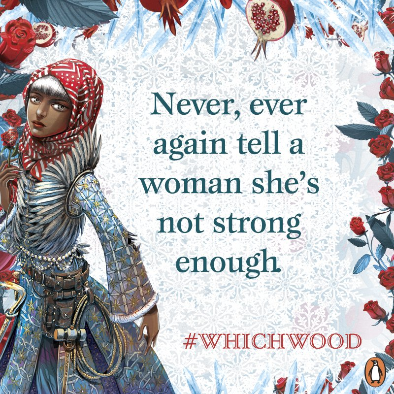 RT @PenguinTeen: #Whichwood by @TaherehMafi serving up realness #TuesdayThoughts https://t.co/mv4FqdVAuQ https://t.co/qJG7iSY2UF