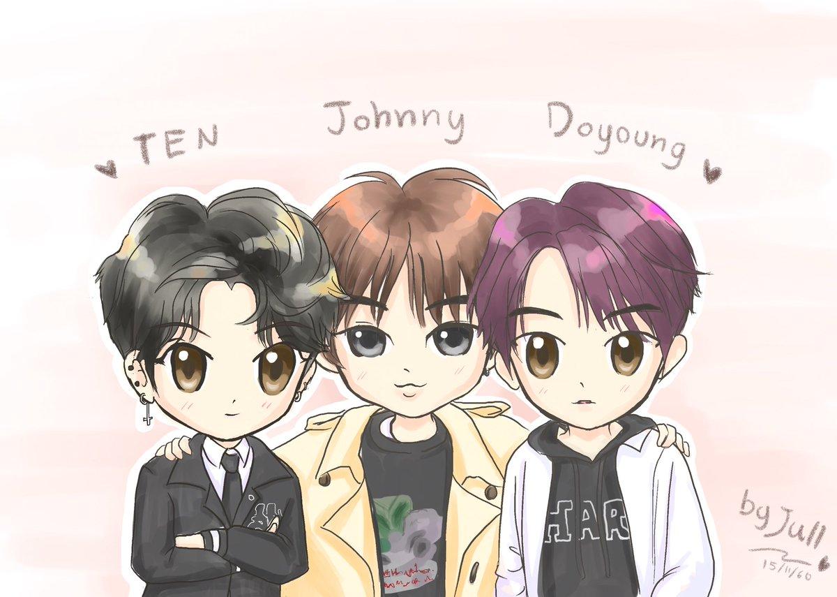 #TEN ❤️ #JOHNNY ❤️ #DOYOUNG   #NCTFanart...