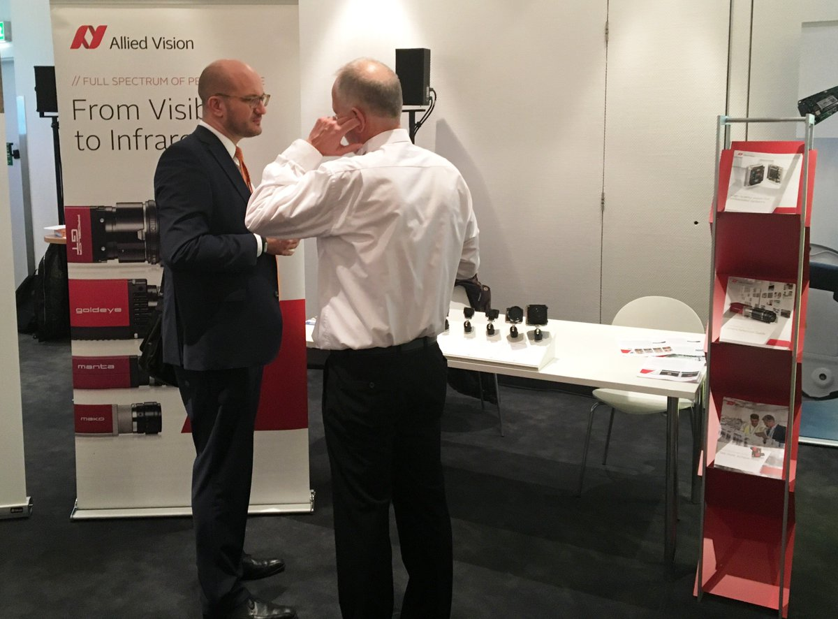 We are at #IVT Autonomous Industrial Vehicle Technology Symposium in Cologne Germany today and tomorrow! Come and visit us to discover our camera solutions for autonomous vehicles.  http:// goavt.com/2AEOfpD  &nbsp;  <br>http://pic.twitter.com/xJ6Y14B0fo